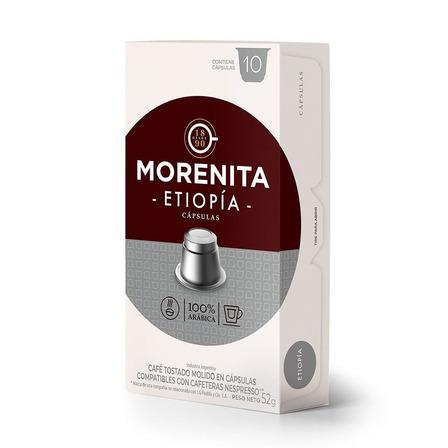 Cápsulas de café etiopía La Morenita 10u