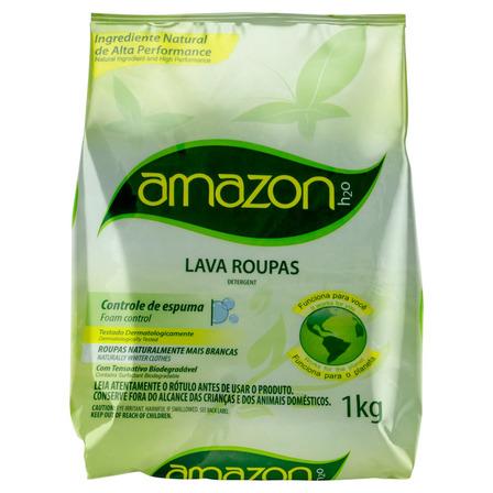 Sabão em pó Amazon H2O pacote 1 kg