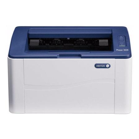 Impresora Xerox Phaser 3020/BI con wifi blanca y azul 110V - 127V