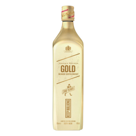Uísque Blended Johnnie Walker Gold Reino Unido garrafa 750 mL
