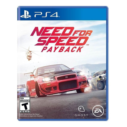 Need for Speed: Payback Standard Edition Físico PS4 Electronic Arts