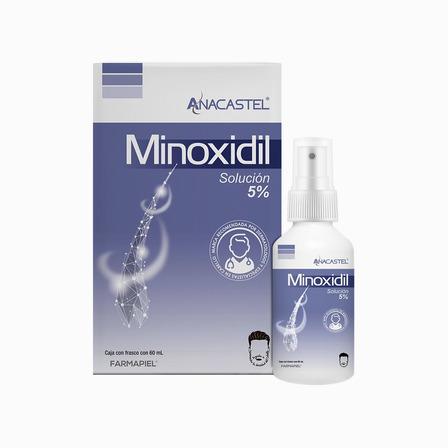 Anacastel Minoxidil Solución 5% Líquido - 60 mL