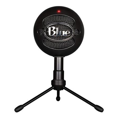 Microfone Blue Snowball Ice condensador  cardióide preto