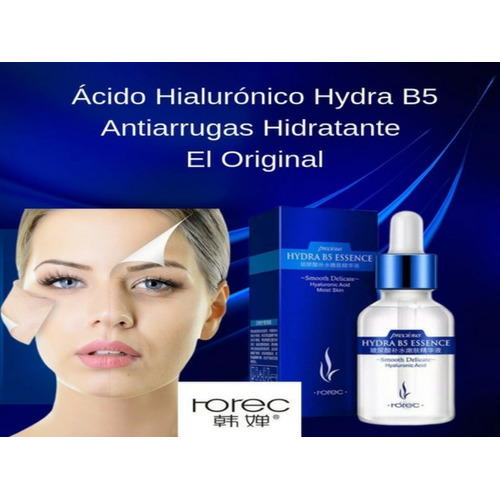 Acido Hialuronico Puro Concentrado  Rorec B5 Anti-arrugas
