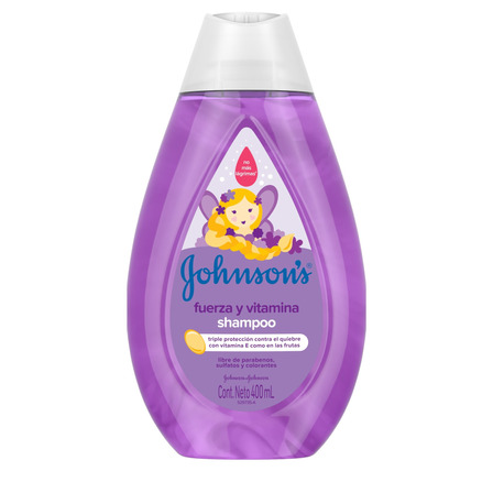 Shampoo  Johnson's Baby Fuerza y Vitamina 400ml
