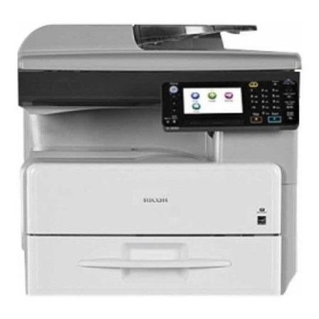 Impresora multifunción Ricoh Aficio MP 301SPF 220V gris y negra