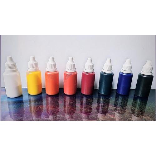 Colorante Traslucido P/resina Epoxi O Poliester 10cc X 8unid
