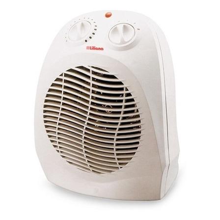 Calefactor eléctrico Caloventor Liliana CFH417 Blanco 220V - 240V