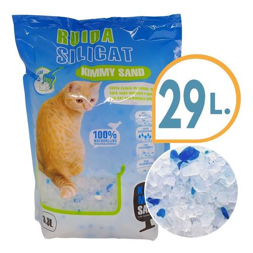 Piedra Sanitaria Gel Para Gato Silica 12 Kg + Envio Gratis