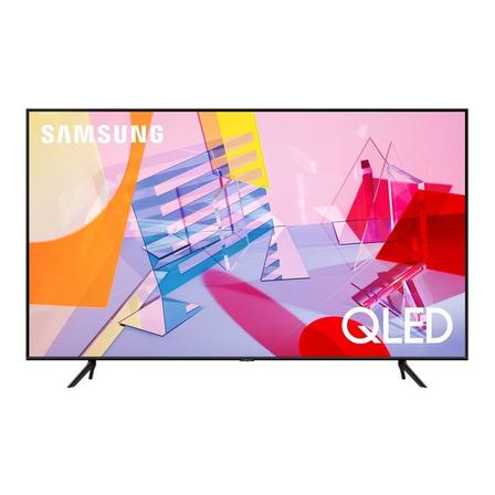 """Smart TV Samsung Series 6 QN55Q60TAFXZX QLED 4K 55"""" 110V-127V"""