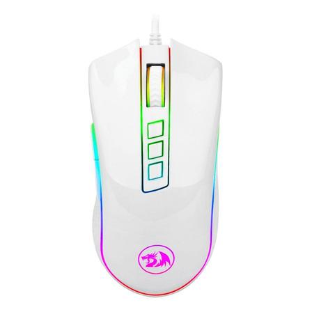 Mouse para jogo Redragon  Cobra White M711-W white