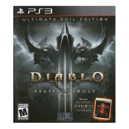 Diablo III: Reaper of Souls Ultimate Evil Edition Digital PS3 Blizzard Entertainment