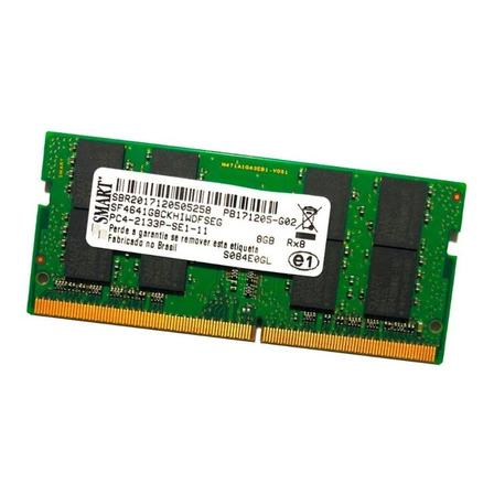 Memória RAM color Verde  8GB 1 Smart SF4641G8CKHIWDFSEG