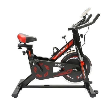 Bicicleta fija spinning Femmto Residencial SPIN2000 negra