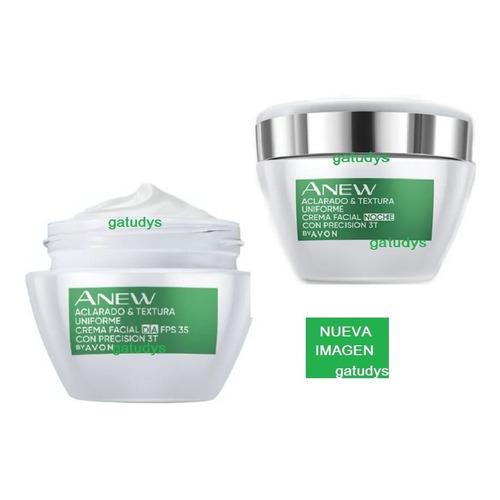Cremas Facial Aclaradora Día Y Noche Anew Clinical