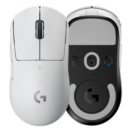 Mouse de juego inalámbrico recargable Logitech  Pro Series Pro X Superlight blanco