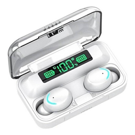 Audífonos inalámbricos F9-5 blanco