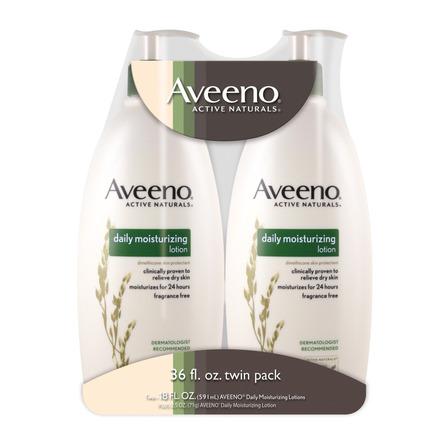 Crema líquida Aveeno Daily moisturizing con dosificador 532ml 2u