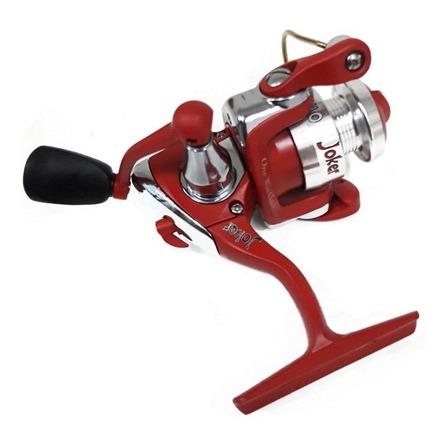 Carretel molinete Maruri Joker Vermelho direito/esquerdo color vermelho