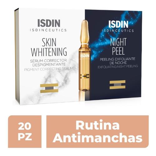Isdinceutics Skin Whitening & Night Peel Ampolleta 10+10x2ml