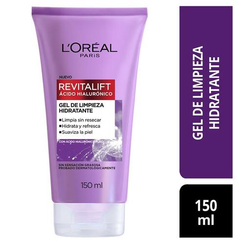 Gel Limpiador Facial Ácido Hialurónico L'oréal Paris