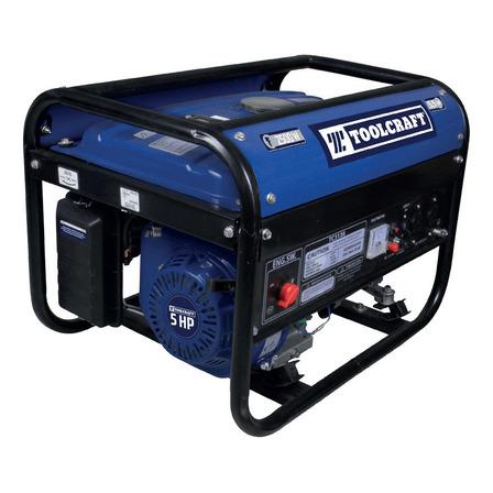 Generador portátil Toolcraft TC3136 2500W monofásico 110V