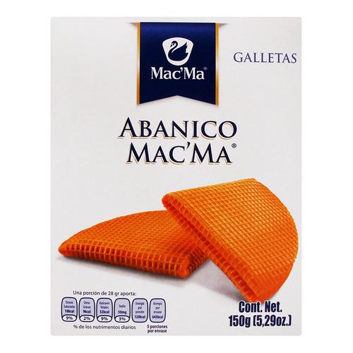 Galleta Macma Abanico 150g