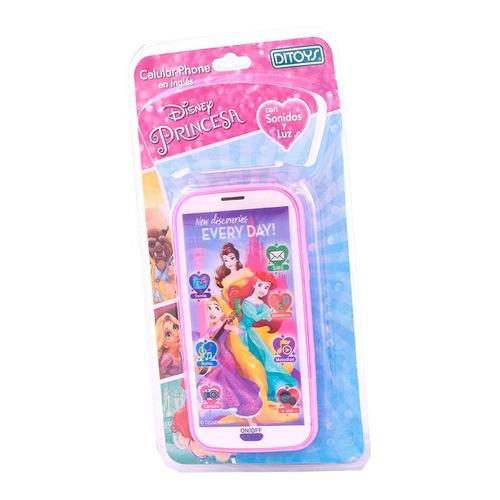 Celular Princesas 3d Con Sonido Disney Ditoys En Ingles