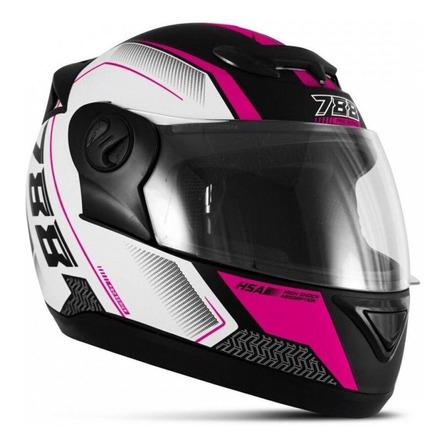 Capacete para moto  integral Pro Tork Evolution  G6 Pro Series  rosa pro series tamanho 58