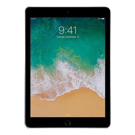 """iPad  Apple   6th generation 2018 A1893 9.7"""" 32GB cinza-espacial com 2GB de memória RAM"""