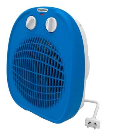 Calefactor eléctrico  caloventor Indelplas IC-01  azul 220V