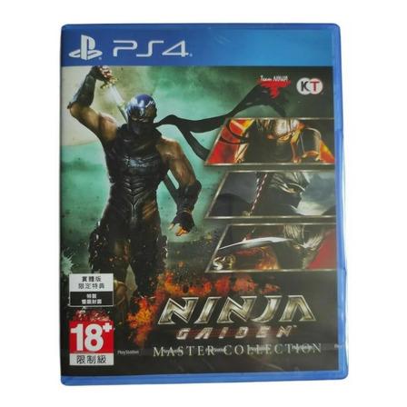 Ninja Gaiden: Master Collection Standard Edition Koei Tecmo Europe Ltd PS4  Físico