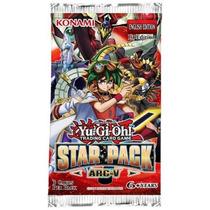 Baralho Cartas Konami Yu-gi-oh! Booster Pacote Estelar Arc V