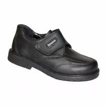 Zapatos Colegio Marcel Cuero Abrojo Varón34/40 Niz´scalzados