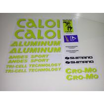 Adesivo Para Caloi Aluminum Andes Sport - Frete Grátis