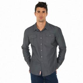 Camisa Oggi Ml X1541309 Negro Hombre