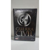 Guerra Civil Livro Edição Especial Capa Dura.