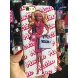 Capa Case Silicone Barbie Moschino Apple Iphone 4 4s