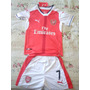 Camiseta + Short Arsenal De Alexis De Niños Talla 12