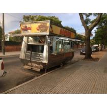 Carro De Chorizos Hamburguesas 2016 Piso Y Estructura Acero