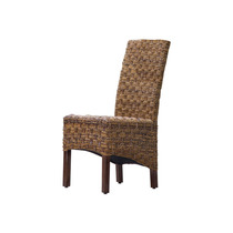 Silla De Comedor Manila Abaca/rattan Wicker (set Of 2),brow