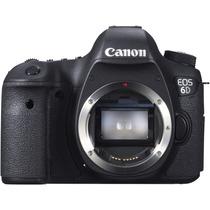 Camera Digital Dslr Canon Eos 6d Corpo Fullframe Wifi Gps