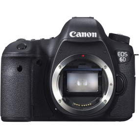 Camera Dslr Canon 6d Corpo Fullframe Wifi - À Vista 4.999