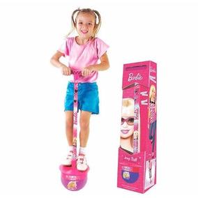 Pula Pula Barbie Jump Ball Lider Com Som