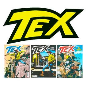 Tex Coleção Mensal Kit Com 30 Revistas Novas Ed. Mythos