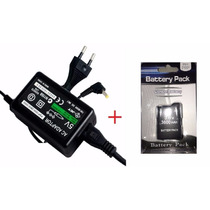 Bateria Sony Psp + Carregador 1000 1001 3.6v 3600mah - Grosa