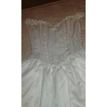 Vestido Blanco 15 Años/novia