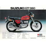 Piñon De Transmision Suzuki Gt 380 En Moto Ballester
