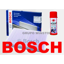 Filtro Ar Condicionado Bosch + Higienizador Ford Ka 1.0 1.6