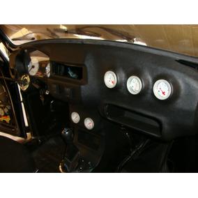Painel Console Para Fusca Personalizado Cd Manômetros